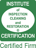 Institued of Inspection Cleaning and Restoration Certified Firm